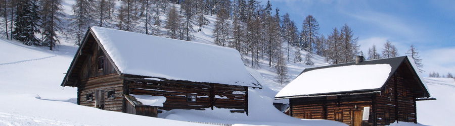 snow-cabin